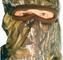 Quaker Boy FACE MASK BANDIT ELITE FULL HOOD MOSSY OAK BREAK-UP