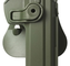 IMI Defense RETENTION PADDLE HOLSTER POLYMER LEVEL 2 CZ 75/SP-01 SHADOW OD GREEN