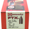 """Hornady BULLETS FTX 45 CAL/.458"""" 325GR 50 CT"""