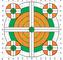 Champion SCOREKEEPER TARGETS 100 YD RIFLE SIGHT-IN ORANGE/GREEN 12-PK