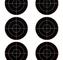 """Champion VISISHOT TARGETS 3"""" BULLSEYE 8.5X11"""" 10-PK"""