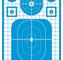 "Pro-Shot TARGETS TACTICAL PRECISION 12X18"" BLUE 8-PK"