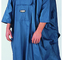 World Famous NORTH 49 PACK PONCHO PVC COATED POLYESTER COBALT